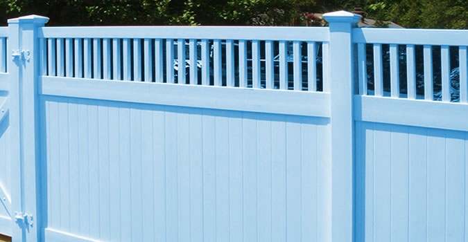 Painting on fences decks exterior painting in general Indianapolis